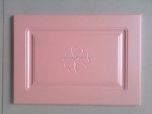 PVC moulded mdf kitchen cabinet door