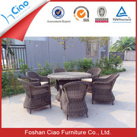 Hideaway garden furniture set dining table and chair set