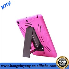 Waterproof kickstand double layer case for ipad