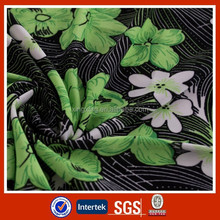 China supplier Polyester/Spandex printed super soft dress FDY fabric