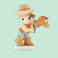 fancy cowboy resin cheap gift items for children