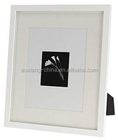 Two usage table top and wall frame Matted for Single opening center Picture Frames