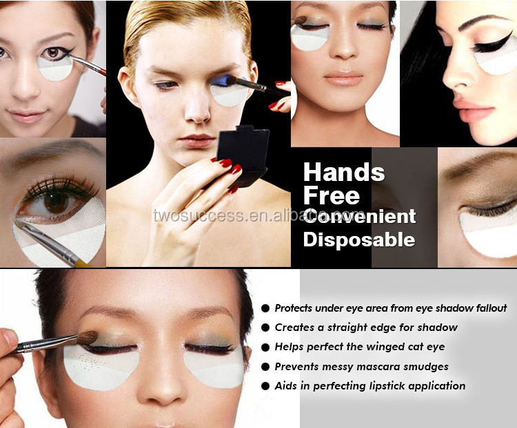 Disposable convenient cosmetic fallouts