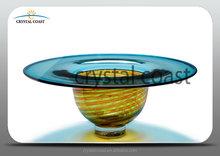 large hurricane floor flower stand disposable vase wholesale;large terrarium like straw hat; ikebana vase with round bottom