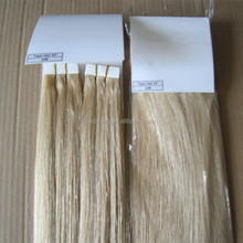 100% european hair tape blonde colors straight remy walker white tape hair extension brown color invisible tape hair extensions