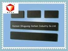 Lâmina de carbono ( 130 * 52 * 5 mm ) de carbono vane, Placa de grafite, Folha de grafite