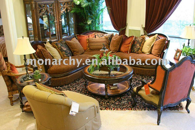 V073B Curve Sofa Luxury Living Room Furniture Sofa Sets View Living Room Fur