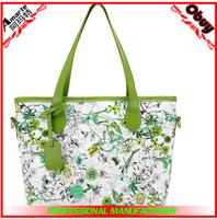 2015 Hot sale japanese design women'fashion printed handbags ladies