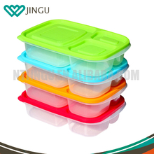 3 compartment bento lunch box containers