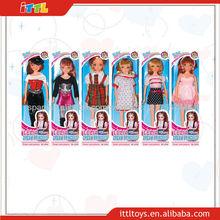 sueño A372318 niñas princesa muñeca de juguete de plástico de juguete de la muñeca