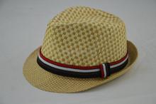 Felt floppy hat wholesale fedoras with ribbon
