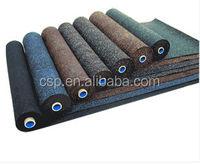 Shock absorption 3mm rubber sheet rolls/rubber sheet roll/rubber floor tile