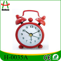 Metal Mini Table Alarm Clock for Promotion Gift