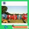 Red color and blue color 1.5 m TPU bumper ball soccer, bubble ball for sale, bulk colored plastic balls
