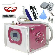 Portable Q Switched Nd Yag laser tattoo removal