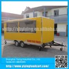 YY-FS480 2015 big wheels sliding windows mexican mobile fast food cart