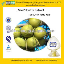 GMP Certified Manufacturer Supply High Quality Saw Palmetto Extract