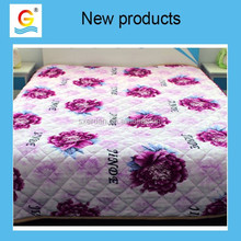 2015 new products 100% polyester three layer flannel blanket