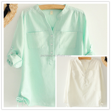 women fashion linen and cotton shirts
