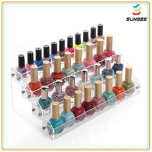 Factory direct supply popular deluxe design beautyful shape aacrylic organizer for cosmetic
