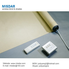 Wireless remote control shades, remote control window covering, remote control window treatment