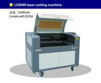 portable laser cutting for metal cutting LC6090