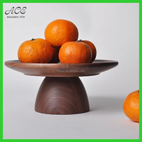 High quality walnut wood food tray