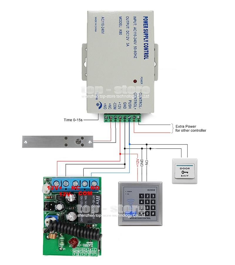 aliexpress com   buy diy full kit set rfid keypad access