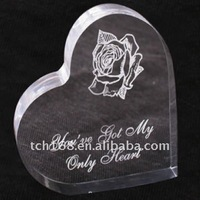 Transprent Acrylic paper weight