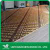 Brown film faced plywood , 1220c2440x15mm wooden construction formwork materials / Marine plywood