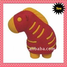 2014 lovely shaped 3D zebra eraser for promotional gift or school use