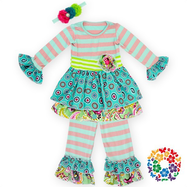 Ruffle But Baby Girl Clothes