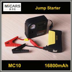 Strong battery portable car multi-function jump starter 12v