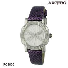 Ladies Women Girl Geneva Silicone Quartz Golden Crystal Stone Wrist Watch