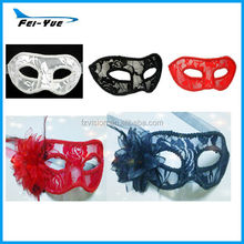 New Fashion Cheap Italy Venetian Lace Mask (White, black, Red, 7 colors for choice)