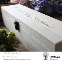 HONGDAO wooden fountain pen display box,custom wooden wine gift box