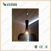 Italian design modern original wooden pendant lighting black wooden chandelier wooden hanging lights for indoor decor