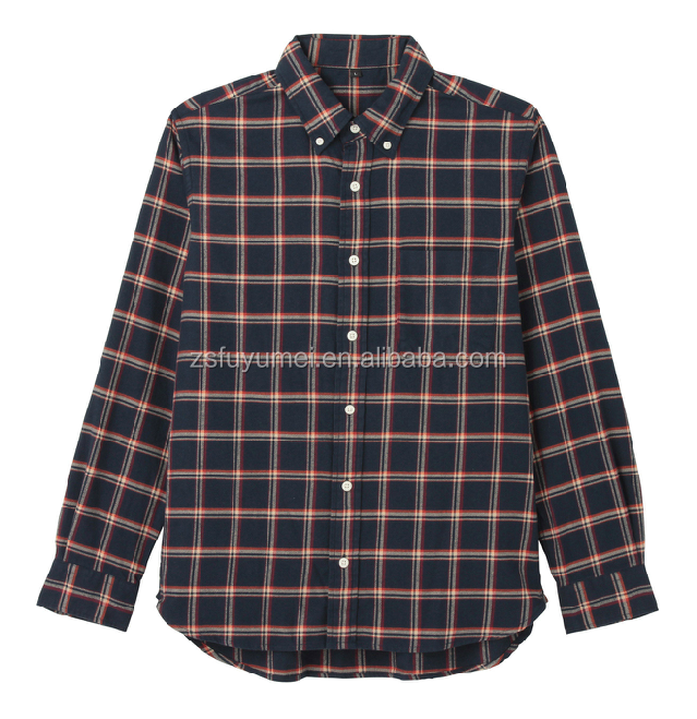 Mens clothing flannel shirt bulk buy from china wholesale for Places to buy flannel shirts