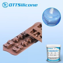 chocolate molding liquid silicone rubber for food molds making