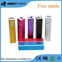 aluminum lipstick charger powerbank for Nokia