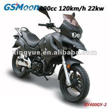 Meet Euro III / DOT/ CDOT / EPA emission 400cc racing motorcycle