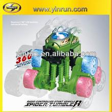 yinrun new product spider tumbler plastic car plastic robot model