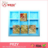 PRZY High quality waves handmade silicone soap molds