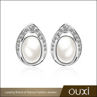 OUXI newest models good imitation 18k earing gold jewelry