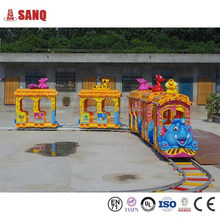 Amusement Park Mini Train Rides, Playground Rides Elephant Track Train