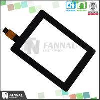 Glass+Glass I2C Interface muti-touch java games touch screen 3.5