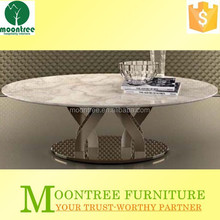 Moontree MDT-1152 china supplier stainless steel legs modern coffee table