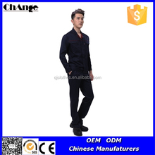 Workwear Product Type and Polyester / Cotton Material Uniform for Men