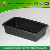 Eco-friendly reclaimed material plastic tray for chocolate