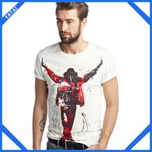 most popular 100 cotton wholesale t-shirts men customized